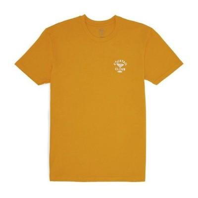 GOOD WORTH グッドワース COCKTAIL CLUB S/S T-SHIRTS カクテルクラブ 半袖 Tシャツ メンズ レディース ゴールド