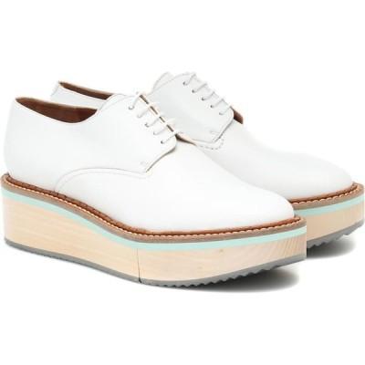 ロベール クレジュリー Clergerie レディース ローファー・オックスフォード シューズ・靴 Brook Leather Shoes Wht Nap