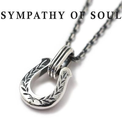 シンパシーオブソウル ネックレス SYMPATHY OF SOUL ホースシューアミュレットネックレス ローレル シルバー Horseshoe Amulet Necklace Laurel SILVER