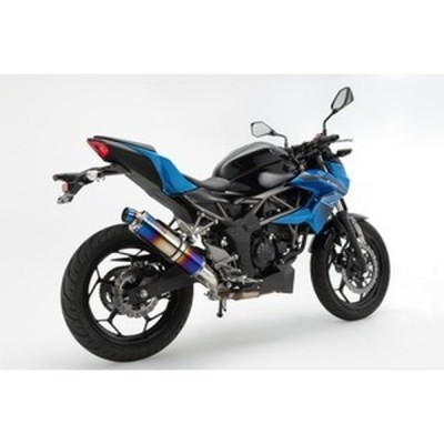 BEAMS (ビームス) バイク用 マフラー Z250SL R-EVO スリップオン ヒートチタンサイレンサー 政府認証 22年騒音規制対応 G425-53-P1J