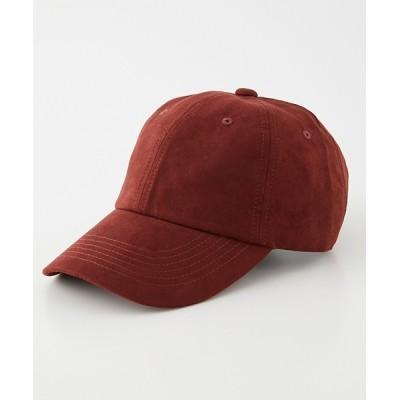 帽子 キャップ ECO SUEDE CAP/エコスエードキャップ