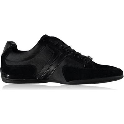 ヒューゴ ボス BOSS メンズ スニーカー シューズ・靴 Spacit Trainers Black