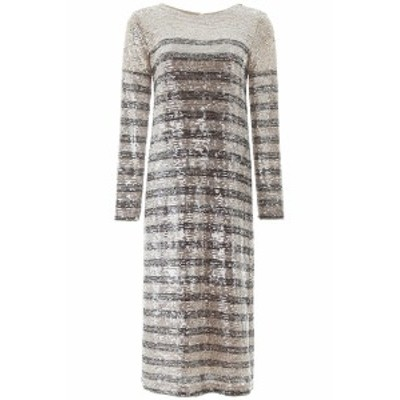 IN THE MOOD FOR LOVE/イン ザ モード フォー ラブ ワンピース SILVER BLACK In the mood for love bettina sequined midi dress レディ