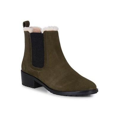 レディース シューズ  EMU Australia Ellin Waterproof Suede & Wool Boot
