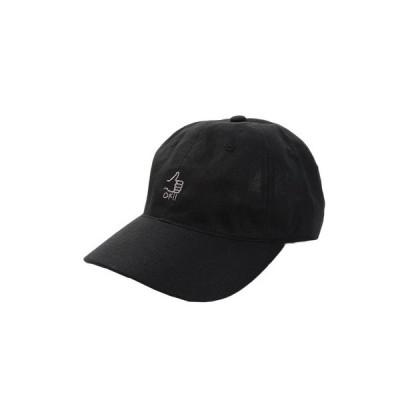 エーシーピージー(ACPG) リネン刺繍キャップ OK 897PA9ST1751 BLK (メンズ)