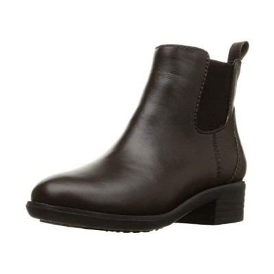 [ヴェリココ] ブーツ ブーティ 19.527.0cm 防水仕様サイドゴアブーツ(4cmヒール) (ブラウン 25.0 cm)