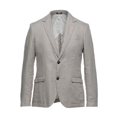 OFFICINA 36 テーラードジャケット ライトグレー 48 リネン 100% テーラードジャケット