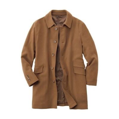 メンズファッション メンズ アウター コート ストレッチ・ウール混素材ステンカラーコート M L LL 1787-202831