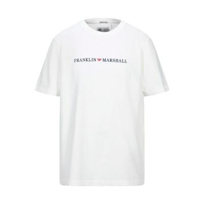 フランクリン & マーシャル FRANKLIN & MARSHALL T シャツ ホワイト XXS コットン 100% T シャツ
