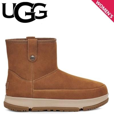 UGG アグ ブーツ クラシック ウェザー ミニ レディース CLASSIC WEATHER MINI ブラウン 1112473