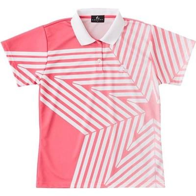 ルーセント テニス LUCENT ゲームシャツ W PI ピンク ケームシャツ・パンツ(xlp4981)