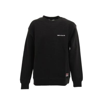 ベンデイビス(BEN DAVIS) ヘヴィースウェットクルーネックシャツ 0780049-BLK (メンズ)