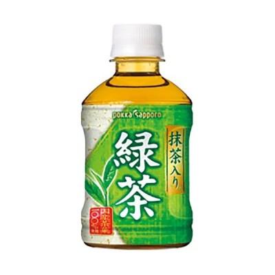 ポッカサッポロ 抹茶入り緑茶 1箱(280ml×24本)
