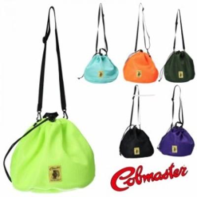 【COBMASTER コブマスター】夏に映える ネオンカラー 2way メッシュ 巾着 ショルダーバッグ シンプル 送料無料