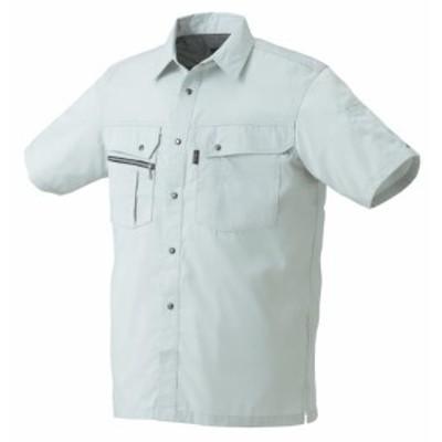 26493 春夏用半袖シャツ (クロダルマKURODARUMA) 社名刺繍無料 S~5L ポリエステル65%・綿35%
