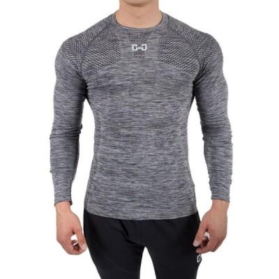 ストレッチ 運動着 メンズ 長袖 Tシャツ  メンズスタイル トップス  お洒落 Tシャツ  ジム  スポーツ カジュアル 吸汗速乾 彼氏