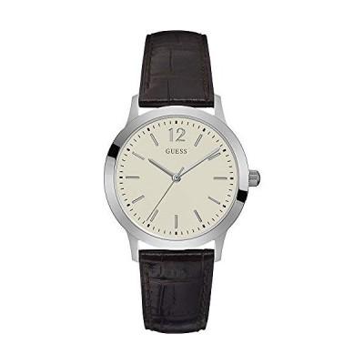 腕時計 ゲス GUESS U0922G2 Guess Exchange Beige Dial Leather Strap Ladies Watch W0922G2