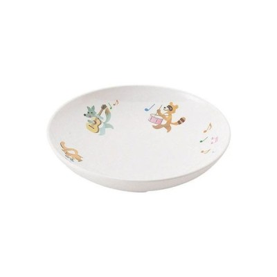 TKG (Total Kitchen Goods) RSLJ701 メラミンお子様食器「プチまる」(2705-PM 14cm平皿)