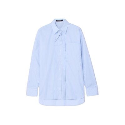 セドリック シャルリエ CEDRIC CHARLIER シャツ スカイブルー 44 コットン 100% シャツ