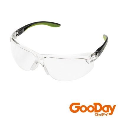 ミドリ安全 二眼型 保護メガネ MP-822 グリーン 1個 MP822GN ※配送毎送料要
