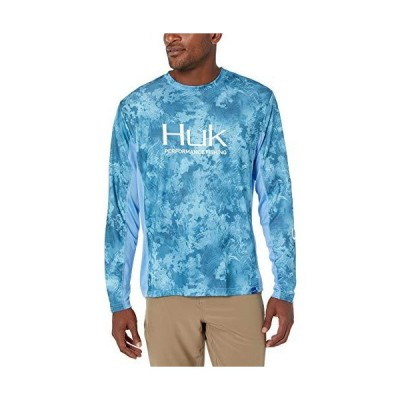 Huk Mens Icon X Camo Long Sleeve Shirt | Long-Sleeve Performance Shirt with