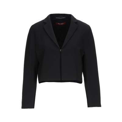 マックスマーラ MAX MARA テーラードジャケット ブラック 36 トリアセテート 71% / ポリエステル 29% テーラードジャケット