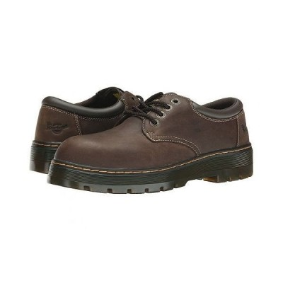 Dr. Martens Work ドクターマーチン メンズ 男性用 シューズ 靴 スニーカー 運動靴 Bolt ST - Dark Brown Wyoming/Brown PU