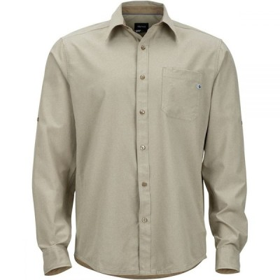 マーモット Marmot メンズ シャツ トップス Windshear Shirt Light Khaki