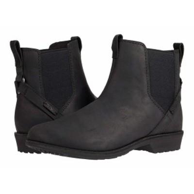 テバ レディース ブーツ&レインブーツ シューズ Ellery Pull-On Waterproof Black