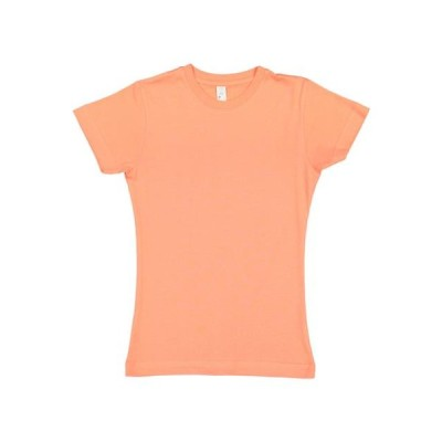 ガールズ 衣類 トップス LAT Girls' Fine Jersey T-Shirt Tシャツ