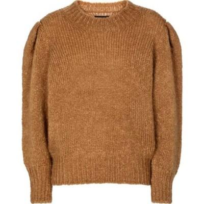 イザベル マラン Isabel Marant レディース ニット・セーター トップス Emma mohair and wool-blend sweater Camel