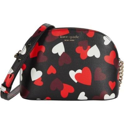 ケイト スペード Kate Spade New York レディース ショルダーバッグ バッグ Spencer Celebration Hearts Small Dome Crossbody Black Multi