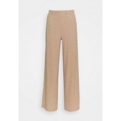 クリーム カジュアルパンツ レディース ボトムス CRMEISA PANTS - Trousers - camel
