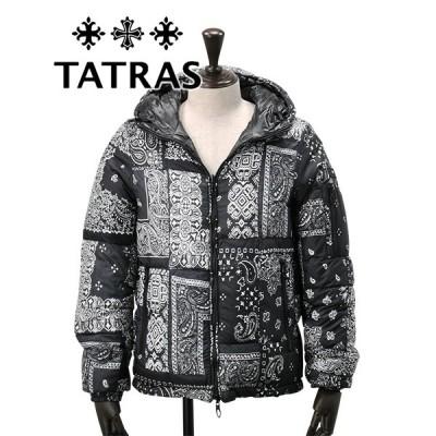 タトラス  国内正規品 TATRAS ダウンジャケット メンズ リバーシブルダウンブルゾン AGRIPPA アグリッパ ブラック アウターでらでら 公式ブランド