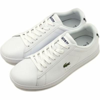 ラコステ LACOSTE レディース カーナビー エヴォ W CARNABY EVO BL 1 スニーカー 靴 WHT ホワイト系 [WZK132-001]