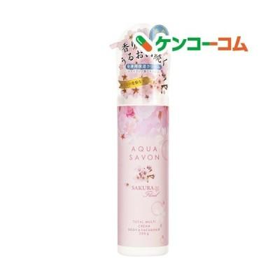 アクアシャボン トータルマルチクリーム サクラフローラルの香り 20S ( 230g )/ アクアシャボン