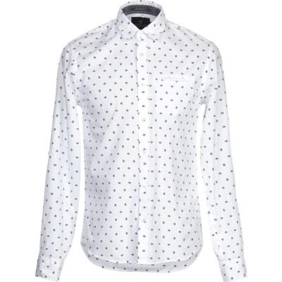 スコッチ&ソーダ SCOTCH & SODA メンズ シャツ トップス patterned shirt White