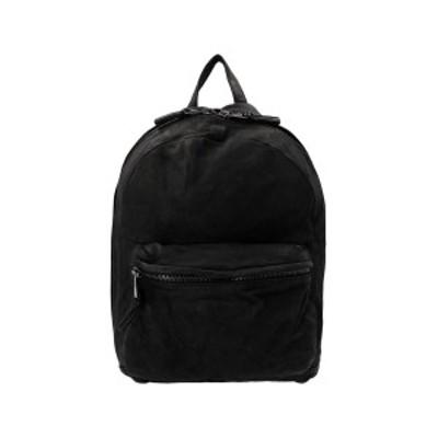 GIORGIO BRATO/ジョルジオ ブラット Nero Brush effect leather backpack メンズ 春夏2021 BS21S2401VBRUSHNEROBRUSH ju