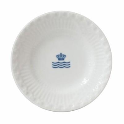 還元祭 母の日 ギフト ロイヤルコペンハーゲン ミニプレート ホワイトフルーテッド ハーフレース RCロゴ 小皿 11cm 2215612 純正箱付 イ