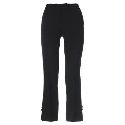 マニラ グレース MANILA GRACE パンツ ブラック 40 ポリエステル 96% / ポリウレタン 4% パンツ
