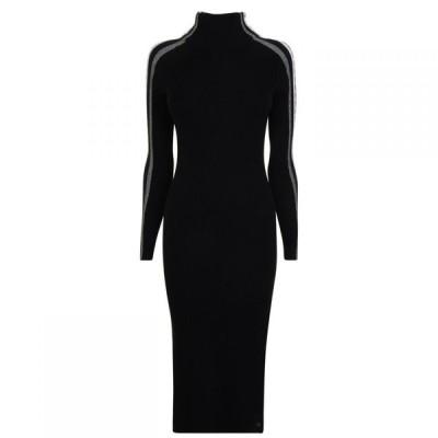 トミー ヒルフィガー Tommy Hilfiger レディース ワンピース ワンピース・ドレス Dress Black Beauty