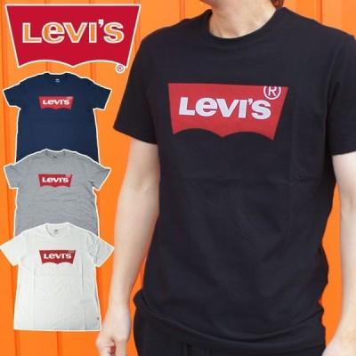 LEVI'S リーバイス バットウィングTシャツ メンズ レディース 17783 半袖 プリントTシャツ クルーネック 丸首 カットソー トップス アメカジ ブラック ホワイト