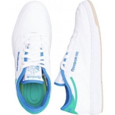 リーボック Reebok メンズ スニーカー シューズ・靴 - Club C Grow Ftwwht/Horblu/Cougrn - Shoes white