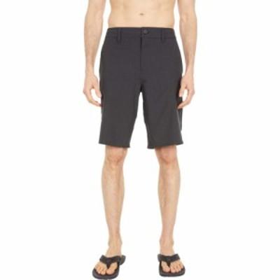 オニール ONeill メンズ ショートパンツ ボトムス・パンツ Reserve Heather 21 Shorts Black