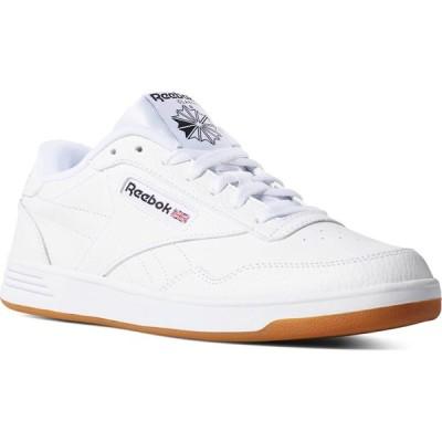 リーボック REEBOK メンズ スニーカー シューズ・靴 Club MemT Gum Sole Shoes WHITE CN
