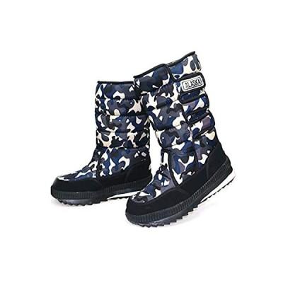 [シュウカ] スノーブーツ スノーシューズ 冬靴 レディース メンズ 防寒靴 ウィンターブーツ 撥水 防滑 保温 裏起毛 雪靴 綿靴 冬用 滑り止め