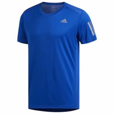 アディダス メンズ Tシャツ adidas Own The Run Short Sleeve T-Shirt 半袖 Collegiate Royal | Response Collection