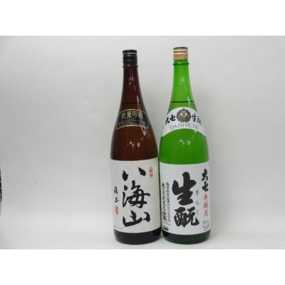 特選日本酒セット 八海山 大七 スペシャル2本セット(純米吟醸 本醸造)1800ml×2本