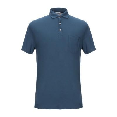 ヘリテージ HERITAGE ポロシャツ ブライトブルー 46 コットン 100% ポロシャツ