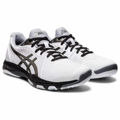 ASICS アシックス メンズ 男性用 シューズ 靴 スニーカー 運動靴 Netburner Ballistic FF 2 White/Gunmetal【送料無料】